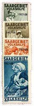 n°121/124* - Timbre SARRE Poste
