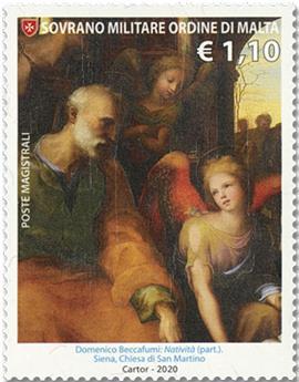 n° 1564/1566 - Timbre ORDRE de MALTE Poste