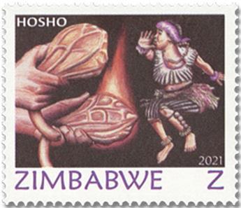 n° 830/833 - Timbre ZIMBABWE Poste