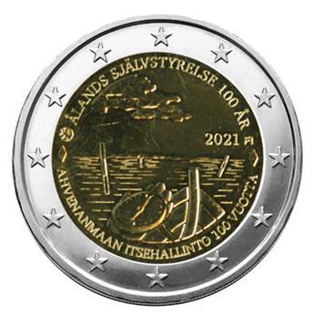 2 EURO COMMEMORATIVE 2021 : FINLANDE (100 ans des Iles Aland)