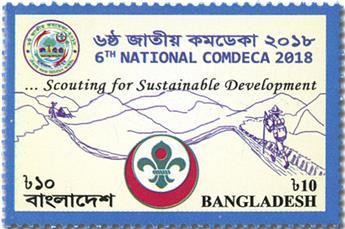 n° 1153 - Timbre BANGLADESH Poste