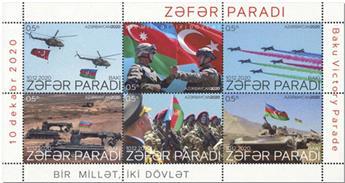 n° 1254/1259 - Timbre AZERBAIDJAN Poste