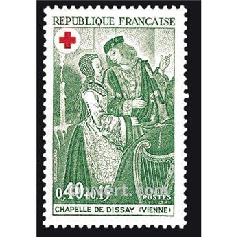 n.o 1661 -  Sello Francia Correos
