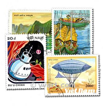 VIETNAM : pochette de 500 timbres