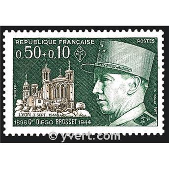 nr. 1668 -  Stamp France Mail