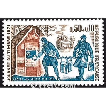 n° 1671 -  Selo França Correios