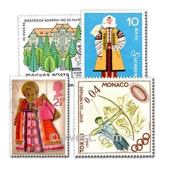EUROPE : pochette de 500 timbres