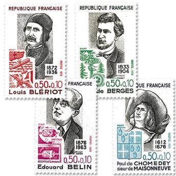 nr. 1706/1709 -  Stamp France Mail