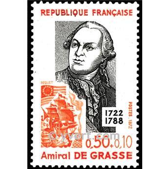 n.o 1727 -  Sello Francia Correos