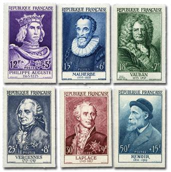 TÉNIS: lote de 50 selos