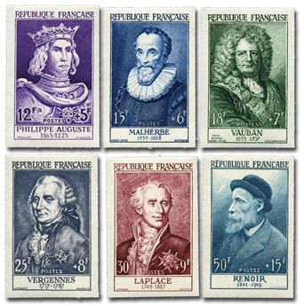 TENNIS : pochette de 50 timbres