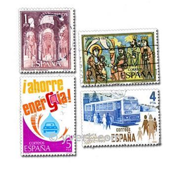ESPANHA: lote de 200 selos