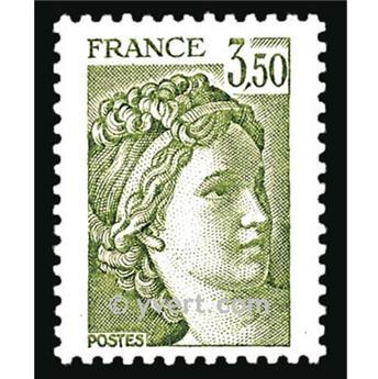 n° 2121 -  Selo França Correios