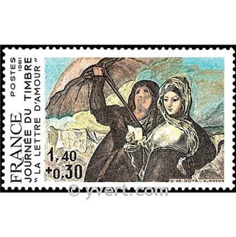 n° 2124 -  Selo França Correios