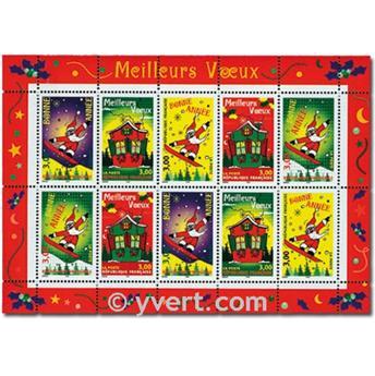 n° 21 -  Selo França Blocos e folhinhas