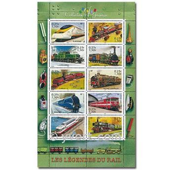 nr. 3405/3414 (BF 38) -  Stamp France Mail