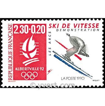 n° 2675 -  Selo França Correios