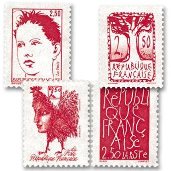 nr. 2772/2775 -  Stamp France Mail