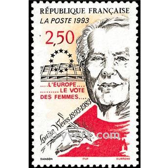 n° 2809 -  Selo França Correios