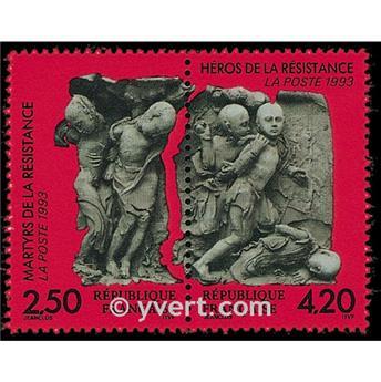 n° 2813A -  Selo França Correios