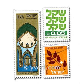 ISRAEL : pochette de 100 timbres
