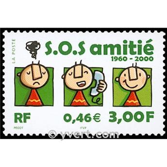 n° 3356 -  Selo França Correios