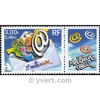 n° 3365 -  Selo França Correios