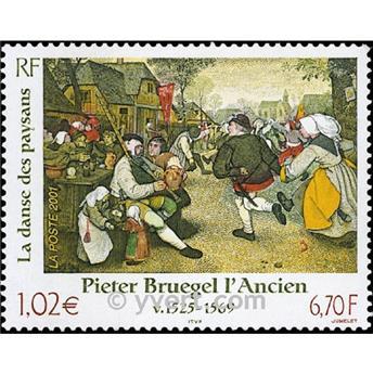 n° 3369 -  Selo França Correios
