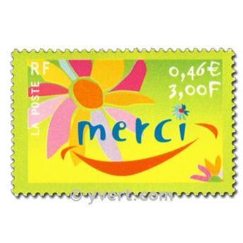 n° 3379a -  Selo França Correios