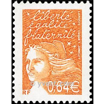 n.o 3452 -  Sello Francia Correos