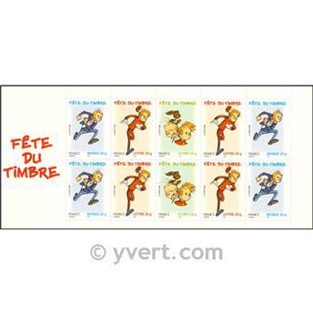 n° BC3877a -  Timbre France Carnets Journée du Timbre