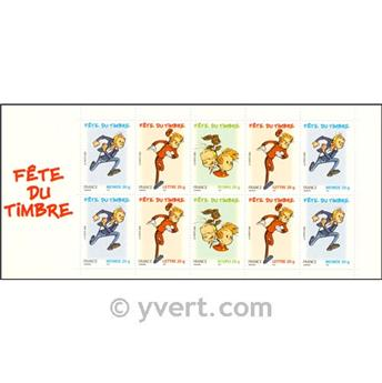 nr. BC3877a -  Stamp France Stamp Day Booklet Panes