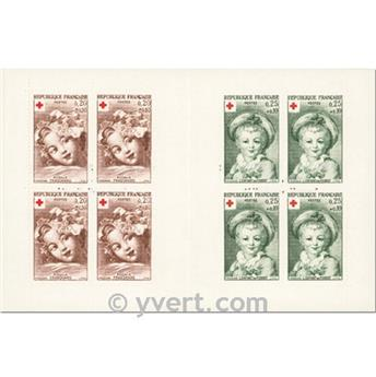 nr. 2011 -  Stamp France Red Cross Booklet Panes