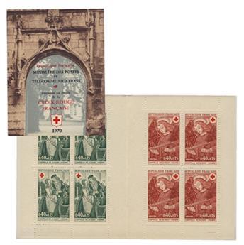 n° 2019a -  Selo França Carnets Cruz Vermelha