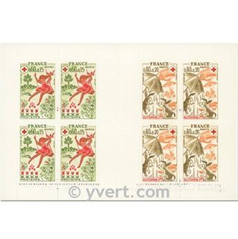 n° 2024 -  Selo França Carnets Cruz Vermelha