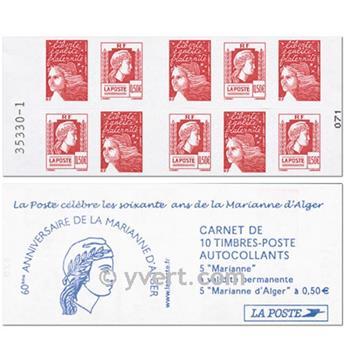n° 1512 -  Selo França Carnets Diversos