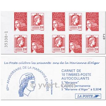 nr. 1512 -  Stamp France Miscellaneous Booklet panes