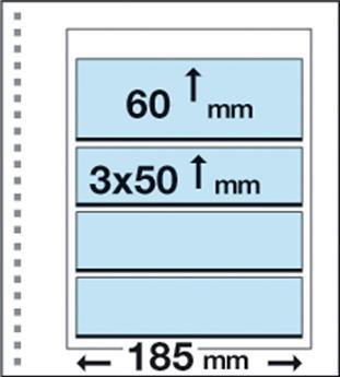 Recharges CK19 : 1 bandes (60x185mm) et 3 bandes (50x185mm)