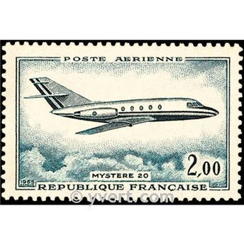 n° 42 -  Timbre France Poste aérienne