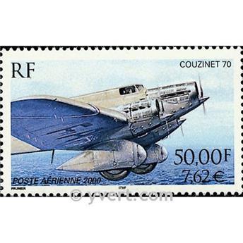 n° 64 -  Timbre France Poste aérienne
