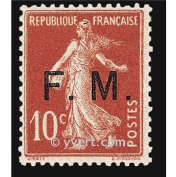 n° 5 -  Selo França Franquia postal