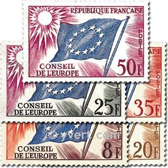n° 17/21 -  Timbre France De service