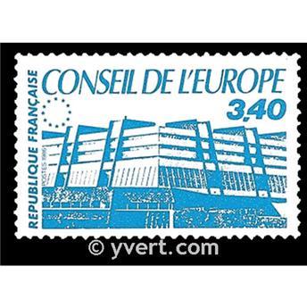n° 95 -  Timbre France De service