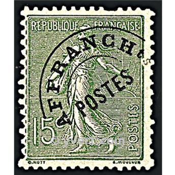 n° 45 -  Selo França Pré-obliterados