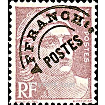 n° 97 -  Timbre France Préoblitérés