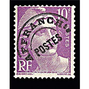 n° 102 - Timbre France Préoblitérés