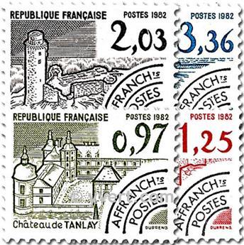 n° 174/177 -  Selo França Pré-obliterados