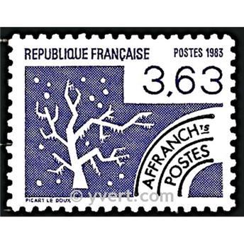 n° 181 -  Selo França Pré-obliterados