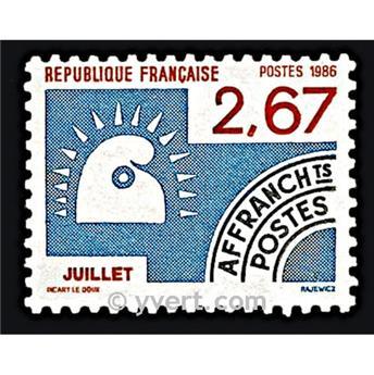 n° 192 -  Selo França Pré-obliterados