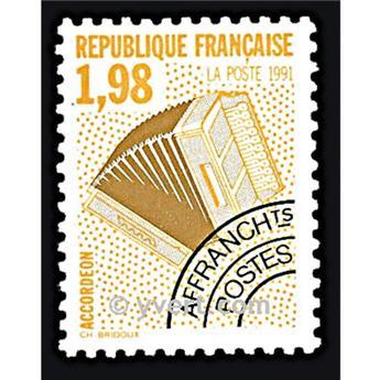 n° 214 -  Selo França Pré-obliterados